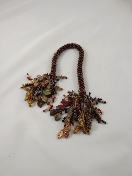 T-4 Bronze Crocheted Tassel Rope