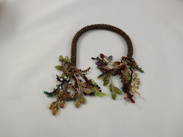 T-6 Matte Cocoa Crocheted Tassel Rope